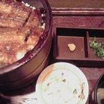 うなぎ 蓮花 - ひつまぶし2200円