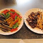 鉄板焼 千鳥 - 焼き野菜