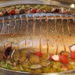 クラウンレストラン - 鮮魚のアクアパッツァ