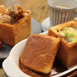パンカフェ KOKON - 料理写真:カレーtoパン