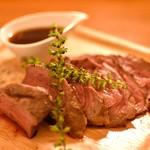 キッチン江戸屋 - 料理写真:葡萄牛のランプ