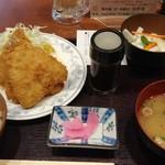 74096435 - アジフライ3尾 定食 780円