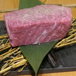 焼肉JIN - 極ロースステーキ150g(赤身)