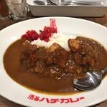 渋谷ハチカレー - 渋谷ハチ唐揚げカレー