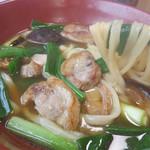 黒田節 - 料理写真:博多うどんの定番ではない『鴨南うどん』『鴨南つけめん』『まぐろ丼』が名物!