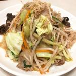どさん子 - 肉野菜炒め(700円)