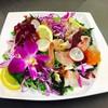6種の海鮮彩りサラダ
