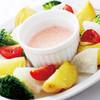 特製明太ソースの温野菜サラダ(明太ソース)