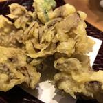 越後十日町小嶋屋 - 舞茸天ぷら