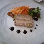 Brasserie Hata - フォアグラ入りテリーヌ