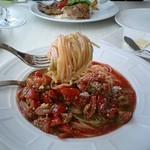 Brasserie Hata - フルーツトマトの冷製パスタ