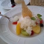 Brasserie Hata - 大人のカキ氷スペシャルデザート