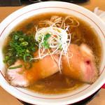 粉哲 - らーめん(醤油)大盛です。(2017.9 byジプシーくん)