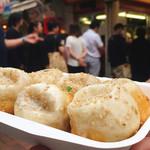 小陽生煎饅頭屋 - 小籠包は大きくて、3つも食べるとけっこうお腹いっぱい。