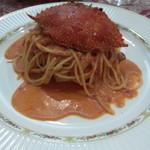 地中海食堂 タベタリーノ - 渡り蟹のパスタ