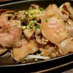 泰元食堂 - 『牛タン塩焼(かぼす仕上げ)』1,030円