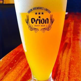 ◆オリオンビールや沖縄の地酒泡盛など豊富に取り揃えています!