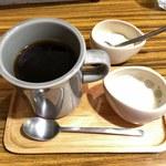ククル - セットの自家焙煎ブレンドコーヒー