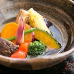 めし屋 仙瑞 - 地元産無農薬野菜を中心に使用しています