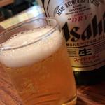 登良屋 - ビール
