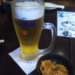 博多酒場きなっせい - 生ビール421円&お通し324円