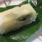 明治屋蕎麦店 - 笹すし 鯖