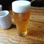 ちか定 - 生ビール
