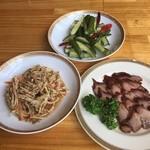 中国茶房8 - 小皿3品