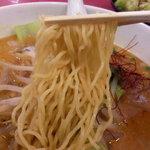 菊翠 - 麺アップ