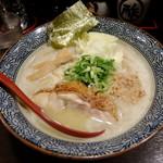 74112320 - 濃熟 鶏そば 750円 (17年7月)