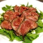 Restaurant OCEM - A4黒毛和牛のたたき