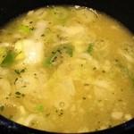 74115930 - 鶏白湯スープ