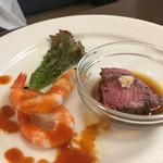キッチン トーキョー - ランチステーキコースの前菜