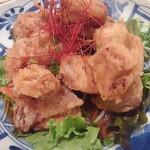 串と煮込み 門限やぶり - 若鶏のカリッと唐揚げ!油淋鶏風