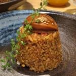 china bistro 八寸 - 鮑のせチャーハン