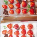 スイートガーデン - 料理写真:苺畑