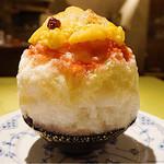 ビストロ ル・クレール - 黄金桃かき氷
