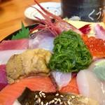 くう海 - うに入りくう海丼アップ