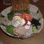 THE DINING 萬喰 - 刺身盛り