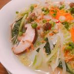 チャイニーズバル マルク - たっぷりちゃんぽん風タン麵
