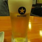 中華居酒屋 森盛酒場 - 生ビール