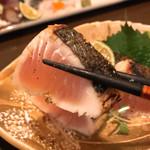 瀬戸内鮮魚料理店 - 料理写真:鰆の塩たたき(^ ^)