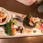 瀬戸内鮮魚料理店 - お造り盛り合わせ(^o^)