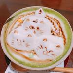 74121572 - 黒蜜と黒糖の抹茶ソイオーレ  650円