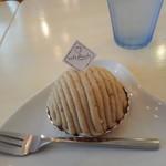 カフェ プラド - モンブラン450円