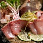 BISTRO にふぇー - 日本有数の漁場・高知県宿毛湾から直送した『高知県宿毛産の鮮魚盛り合わせ』