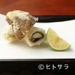 天宗 - 秋だけ味わうことができる贅沢な出合いもの『鱧と松茸』