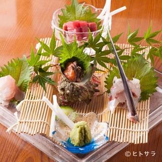 日本海の旬魚介や旨い肉など、食の宝庫・島根の逸品素材が集う