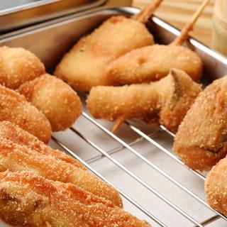 ◇食材にこだわり◇サックサクの串カツを一番美味しい状態で◎