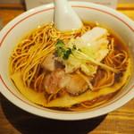 麺尊RAGE - 軍鶏そば800円